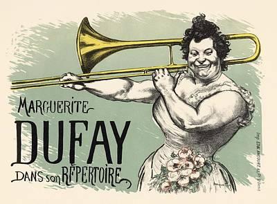 Belle Epoque Photograph - Marguerite Dufay Dans Son Repertoire by Gianfranco Weiss