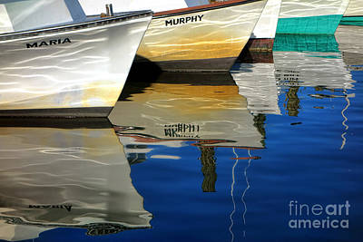 Watercraft Photograph - Maria And Murphy by Olivier Le Queinec