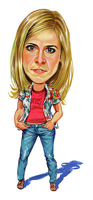 Comics Royalty-Free and Rights-Managed Images - Maria Bamford by Art