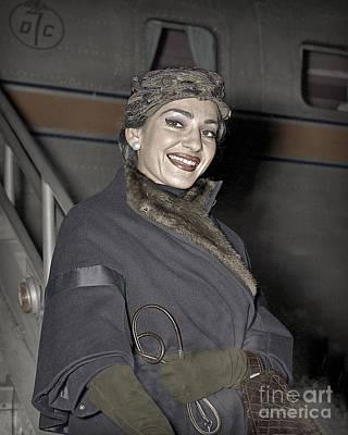 Maria Callas Opera Diva Art Print
