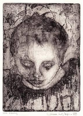 Guardian Drawing - Maria by Gun Legler