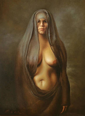 Painting - Maria Magdalena by Marcel Mitea