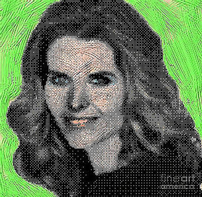First Lady Digital Art - Maria Shriver by Gerhardt Isringhaus