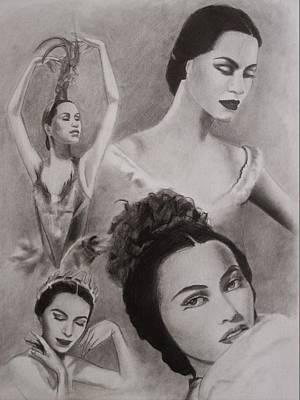 Maria Tallchief Print by Amber Stanford