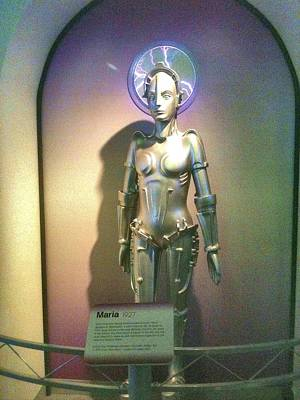 Carnegie Museum Photograph - Maria The Metropolis Robot by Martha Nelson