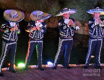 Photograph - Mariachi Band by Rachel Munoz Striggow