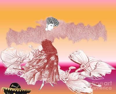 Painting - Flamenco Dancer by Belinda Threeths