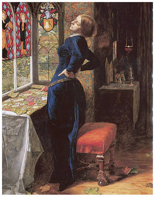 Mariana Art Print by John Everett Millais