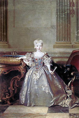 Crown Victoria Painting - Mariana Victoria Of Spain (1718-1781) by Granger
