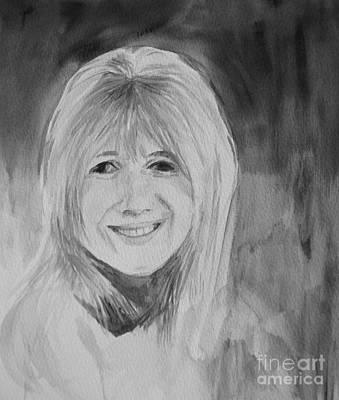 Marianne Faithfull Art Print by Martin Howard