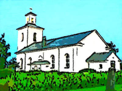 Tabernacle Painting - Marias Church by Bruce Nutting