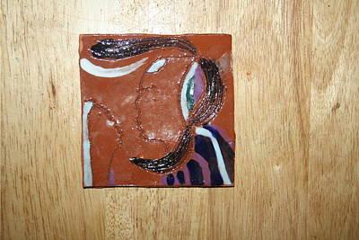Maribel - Tile Art Print by Gloria Ssali