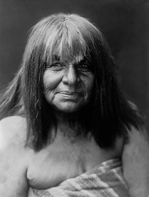 Photograph - Maricopa Indian Women Circa 1907 by Aged Pixel