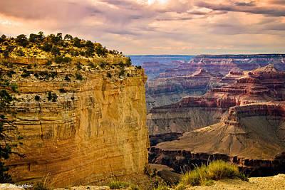 Digital Art - Maricopa Point Grand Canyon by Bob and Nadine Johnston