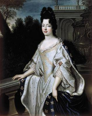 Ancien Photograph - Marie-ad�la�de Of Savoy 1685-1712 by Everett