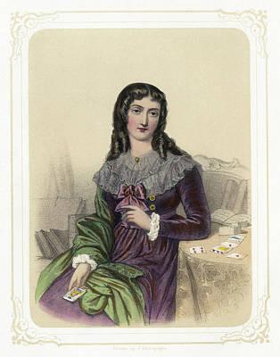 Marie Anne Lenormand (1772-1843) Art Print by Granger