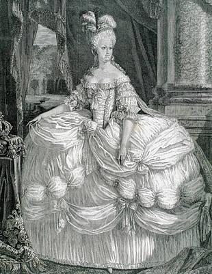 Xvi Photograph - Marie Antoinette (1755-1793 by Prisma Archivo