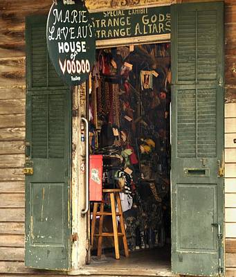 Photograph - Marie Laveau's House Of Voodoo. by Bradford Martin