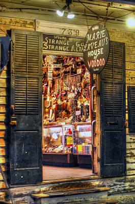Voodo Photograph - Marie Laveau's House Of Voodoo by Ellis C Baldwin