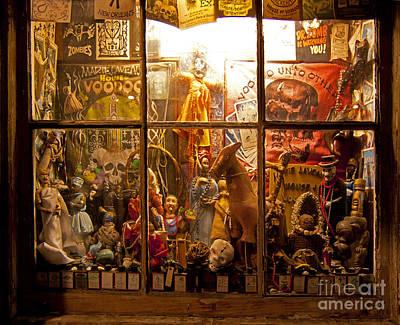 Voodoo Shop Photograph - Marie Laveaux's Voodoo Shop   #4201 by J L Woody Wooden