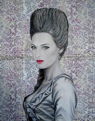 Marie Art Print by Lynet McDonald