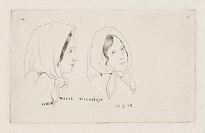 Marie Villasèque, Louis Charles Hora Siccama Art Print