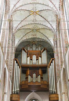 Photograph - Marienkirche Luebeck by Jenny Setchell