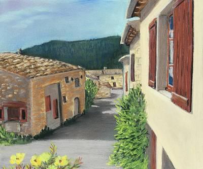 Painting - Marignac-en-diois by Anastasiya Malakhova