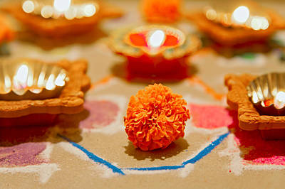 Photograph - Marigold New Year by Kantilal Patel