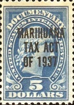 Abstract Expressionism - Marihuana Tax Act Of 1937 Nickle by Rob Hans