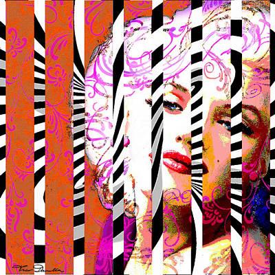 Marilyn 130 A Art Print