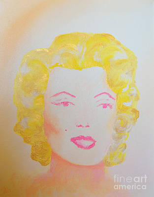 Marilyn Painting - Marilyn by Alys Caviness-Gober