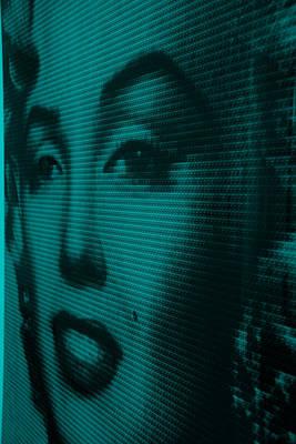 Photograph - Marilyn And Mona Aquamarine by Rob Hans