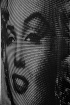 Photograph - Marilyn And Mona Black And White by Rob Hans