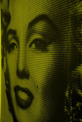 Photograph - Marilyn And Mona Yellow by Rob Hans