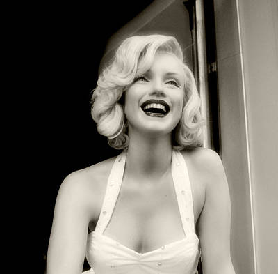 Marilyn Collection 3 Art Print by Cindy Nunn