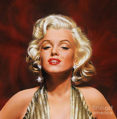 Painting - Marilyn by Dick Bobnick