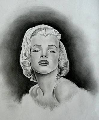 Marilyn Art Print by E White
