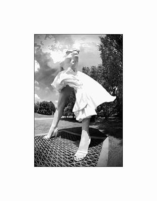 Photograph - Marilyn From The Side by Alice Gipson