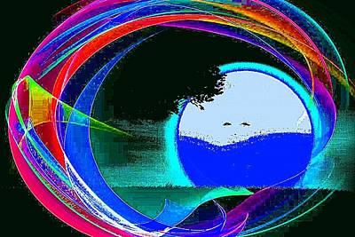 Etc. Digital Art - Marilyn  Hidden by HollyWood Creation By linda zanini