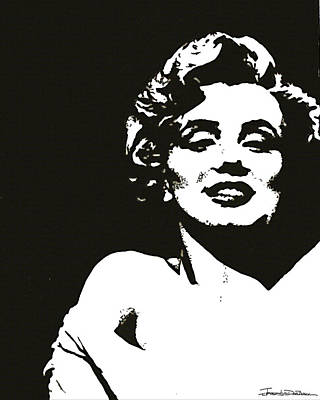 Marilyn II Art Print