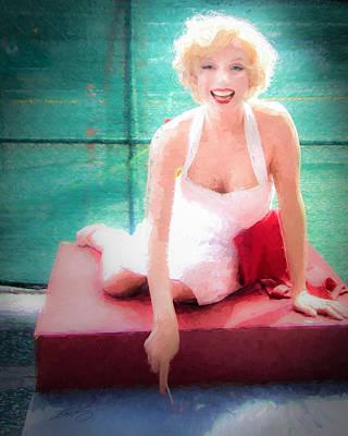 Marilyn Art Print by Ike Krieger
