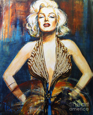 Marylin Painting - Marilyn by Ira Ivanova