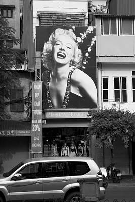 Photograph - Marilyn by John Noel