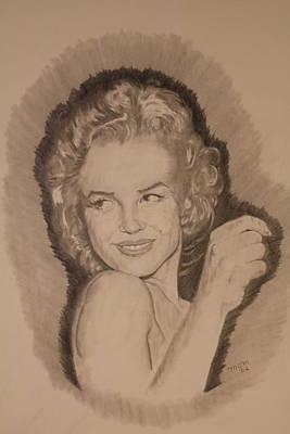 Michael Mcgrath Painting - Marilyn by Michael McGrath