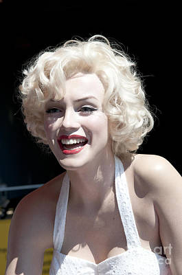 Photograph - Marilyn Modelled In Wax by Brenda Kean