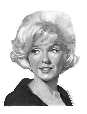 Marilyn Monroe - 015 Art Print