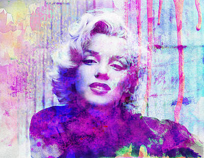 Marilyn Monroe Digital Art - Marilyn Monroe 1 by Andrew Billings