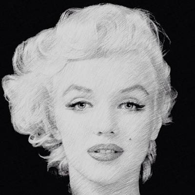 Digital Art - Marilyn Monroe 1 by Lisa Piper