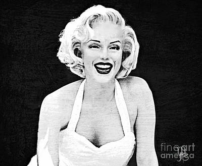 Digital Art - Marilyn Monroe #2 by Mindy Bench